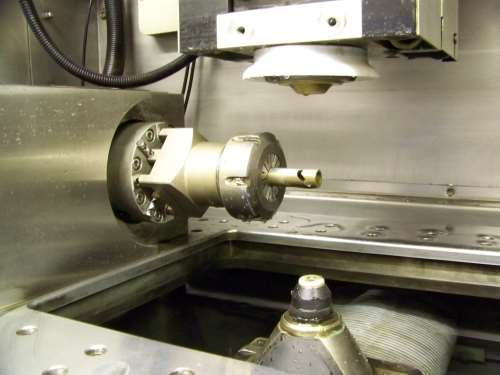 wire EDM spindle