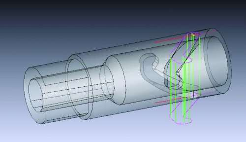 wire EDM spindle CAM program
