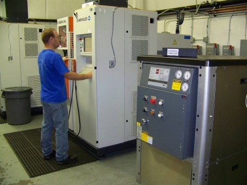 central chiller for wire edm
