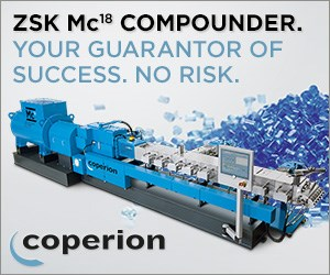 Coperion ZSK MC18 Compounding Machine