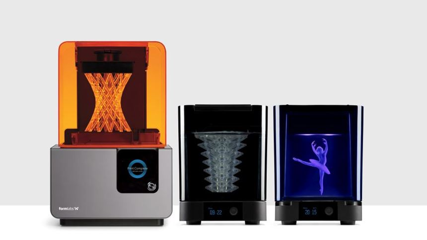 Formlabs Form Wash and Form Cure