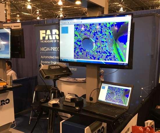 Faro's Cobalt blue-light, 3D imaging system