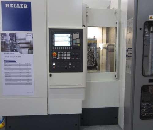 Heller's four-axis MC 2000 HMC