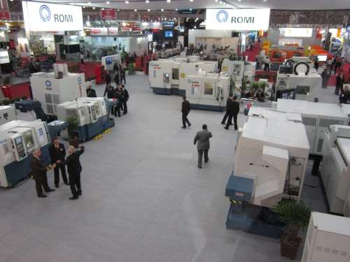 Industrias Romi booth at Feimafe