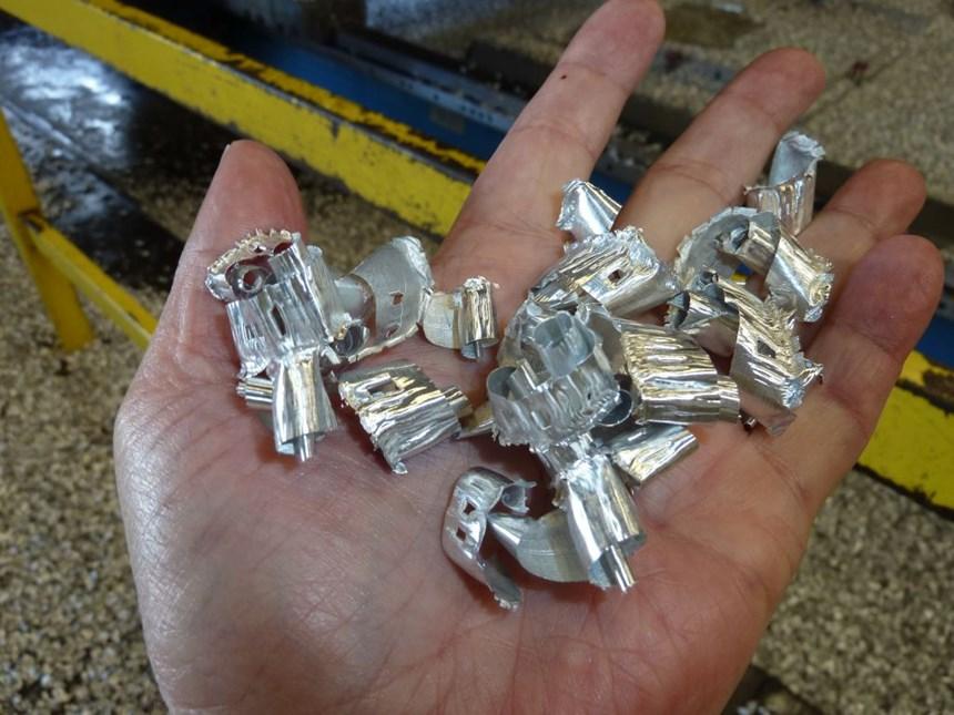 Brek aluminum chips