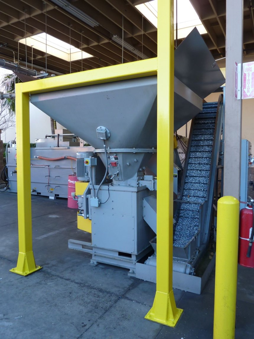 Brek's chip and coolant recycling systems