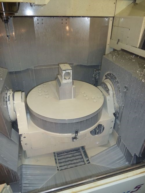 3+2 machining on his Mytrunnion-5