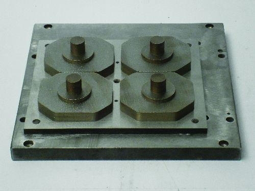 tool inserts on build plate
