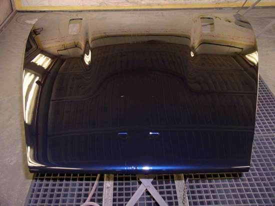 Finished DB9 hood