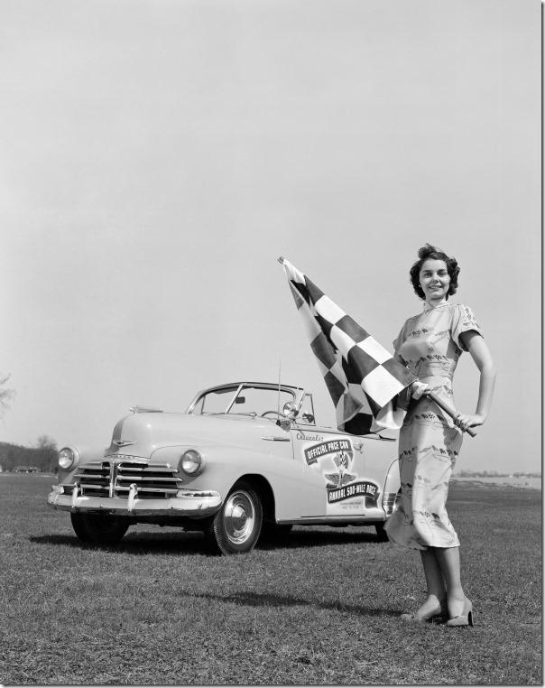 1948 Chevrolet Fleetmaster Convertible Indianapolis 500 Pace Car
