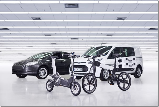 Ford Smart Mobility Plan Expanded at Mobile World Congress with Electric Bike Experiment For Connected Urban Journeys
