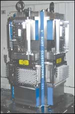 four-sided workholding tower