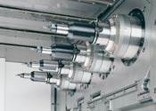 Four-spindle machining center
