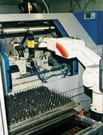 Fully automated grinding cell