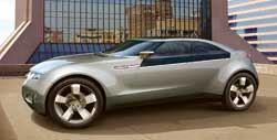 GM hybrid gas/electric concept car