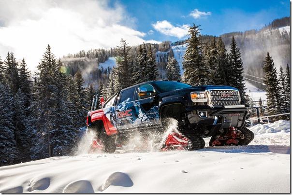2018 GMC Sierra 2500HD All Mountain Concept.