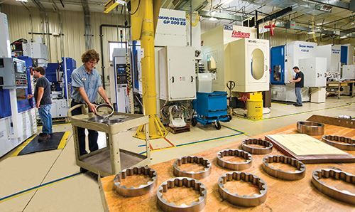 Forest City Gear recently modified its manufacturing process by installing two separate production paths for its cut-teeth-only and make-complete projects.