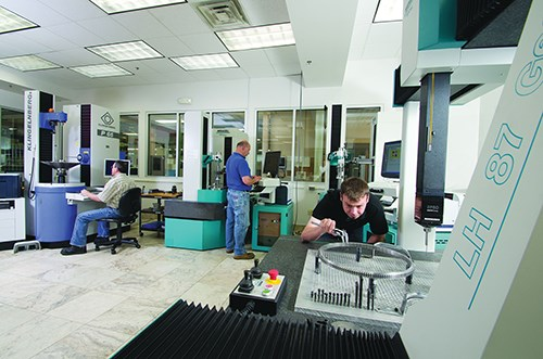 In the future, FCG hopes to separate its inspection lab into cut-teeth-only and make-complete work paths to become more efficient in quality assurance.