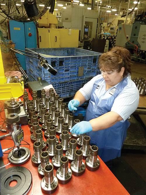 hand gaging of gears