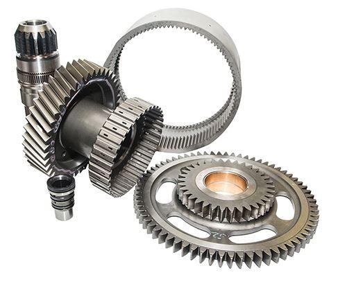 sampling of gears produced by Global Gear