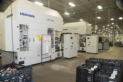 Liebherr LSE 380 shaping machine