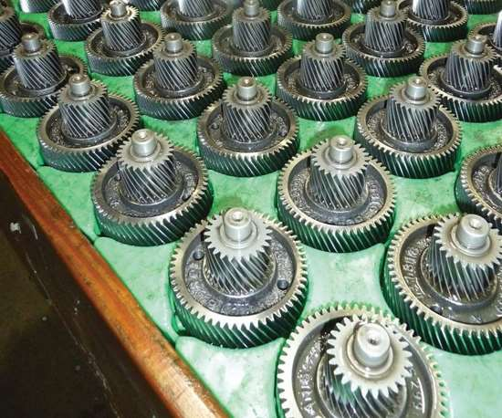 helical gear assembly