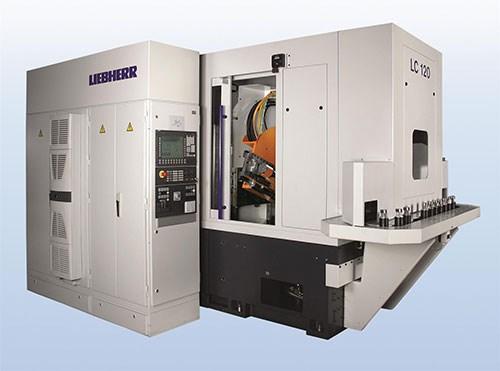 Liebherr gear machine
