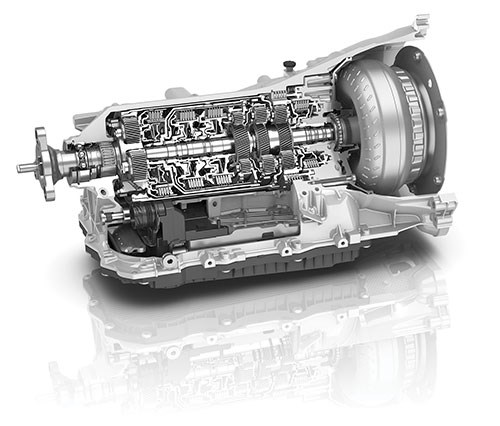 eight-speed transmission