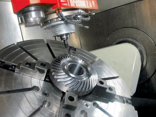 Breton five-axis gantry machining center