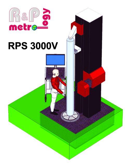 R&P Metrology RP 3000V inspection system