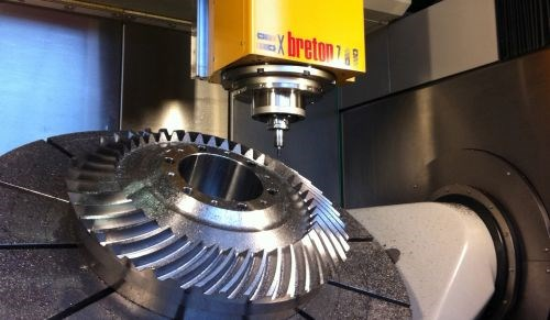 Breton five-axis machining centers