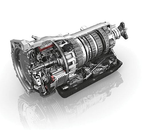 eight-speed plug-in transmission
