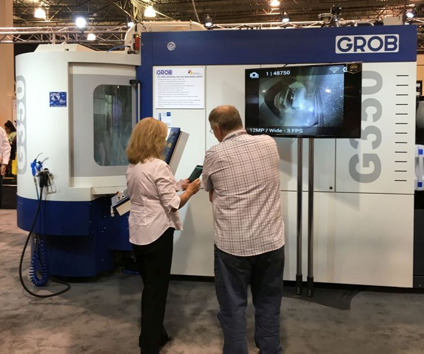 Grob five-axis G350