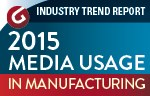 Media Usage in Manufacturing 2015