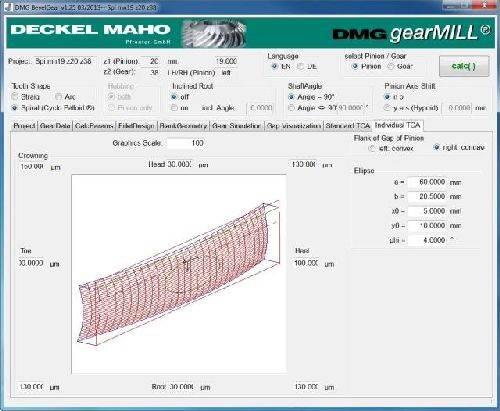 DMG Mori Seiki gearMill CAM software
