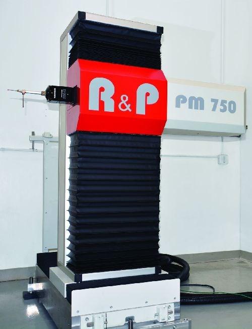 R&P Metrology RPG PM portable gear metrology machine