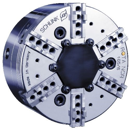 Schunk Rota NCR six-jaw power chuck