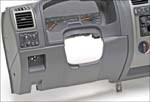 General Motors' first all-TPO instrument panel