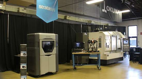 Stratasys Fortus 450mc 3D printer at Gosiger