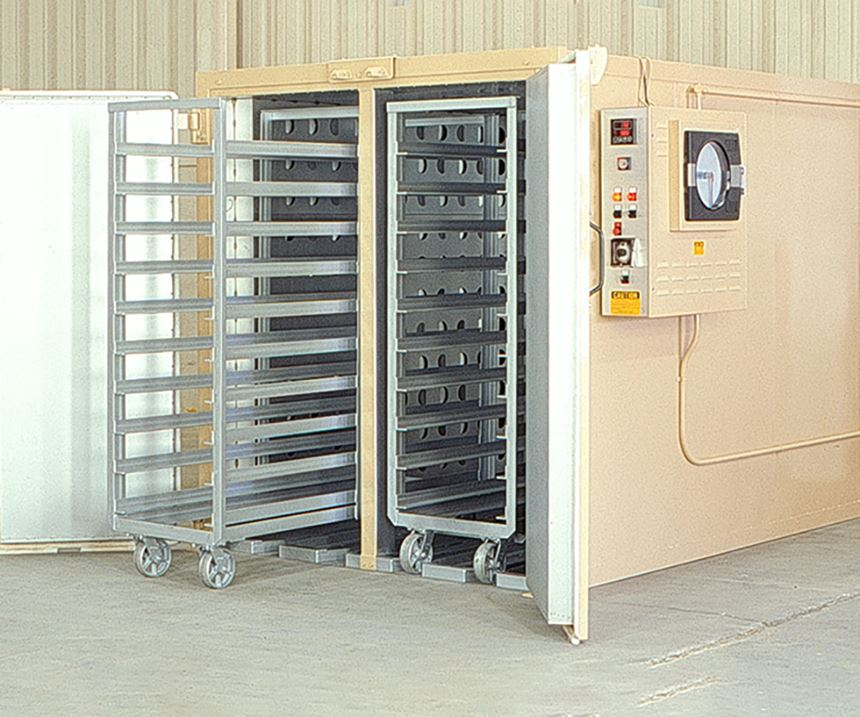 Grieve Corp. No. 826, 500°F electric walk-in oven