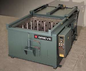 Grieve Corp.'s No. 844 500°F (260°C), top-loading oven.