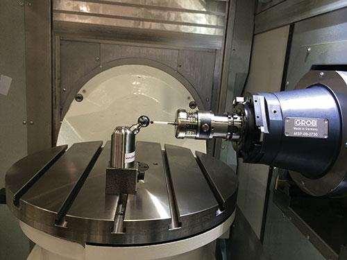 Precision volumetrica para grandes piezas de Grob