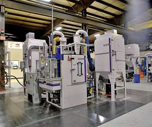 Guyson Corp. Twin-Spindle Grit Blasting Machine