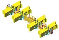 HMC-based machining cells