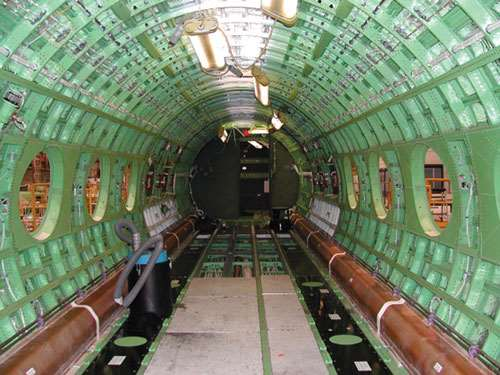 Gulfstream fuselage