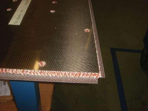 Panel edge
