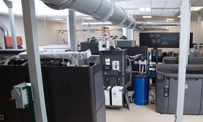 HP 3D Open Materials Development lab