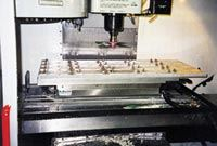 Haas machining center