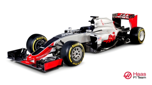 Haas VF-16 race car