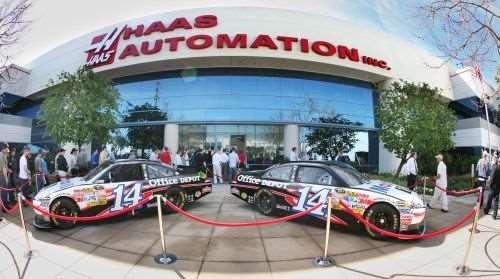 Stewart-Haas Racing display